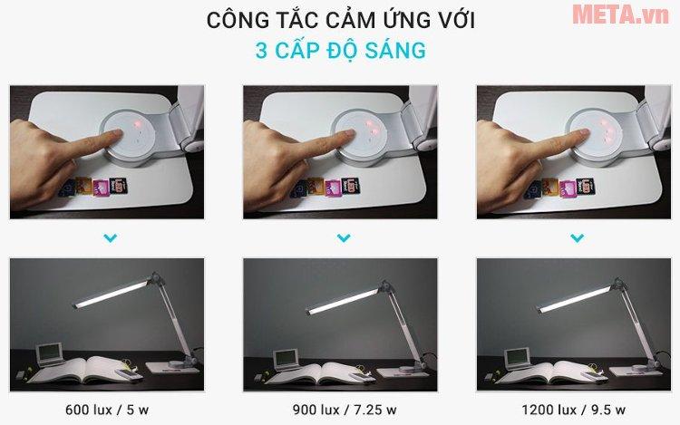 Đèn bàn Led Hàn Quốc Prism 4400W có bảng điều khiển cảm ứng