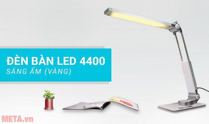 Đèn bàn Led Hàn Quốc Prism 4400W có 3 cấp độ chiếu sáng