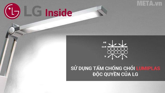 Đèn bàn Led Hàn Quốc Prism 4400W dùng tấm chống chói Lumiplas độc quyền của LG