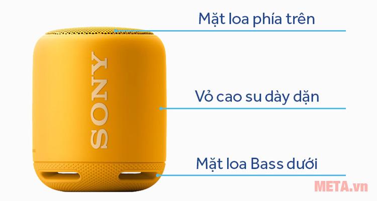 Cấu tạo của Sony SRS-XB10
