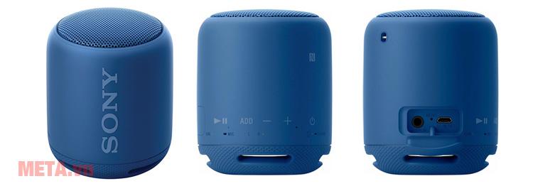 Bảng điều khiển và các cổng kết nối của Sony SRS-XB10