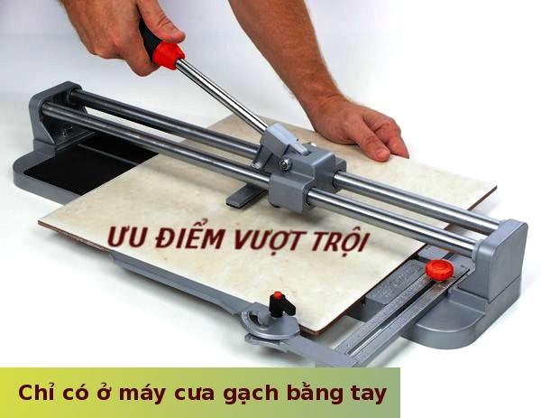 Lý do để bạn nên chọn máy cắt gạch bằng tay thay vì bằng điện
