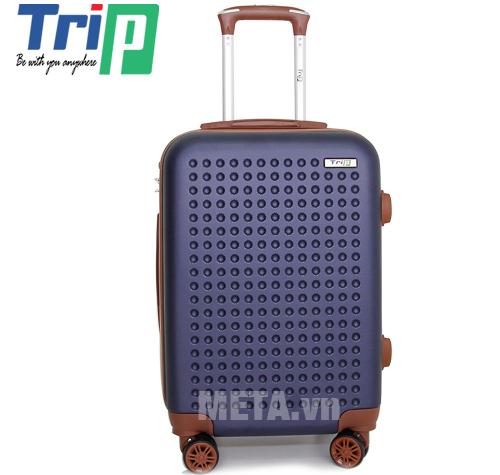 Vali TRIP P803A Size 50cm màu xanh đen