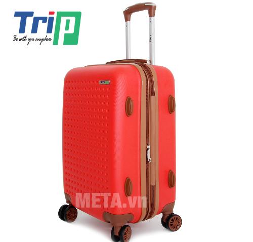 Vali TRIP P803A Size 50cm có bánh xe di chuyển dễ dàng
