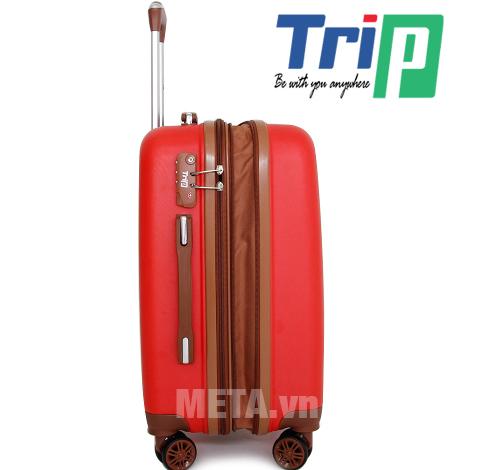 Vali TRIP P803A Size 50cm sử dụng khóa số an toàn