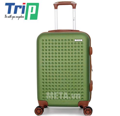 Vali TRIP P803A Size 50cm màu xanh rêu