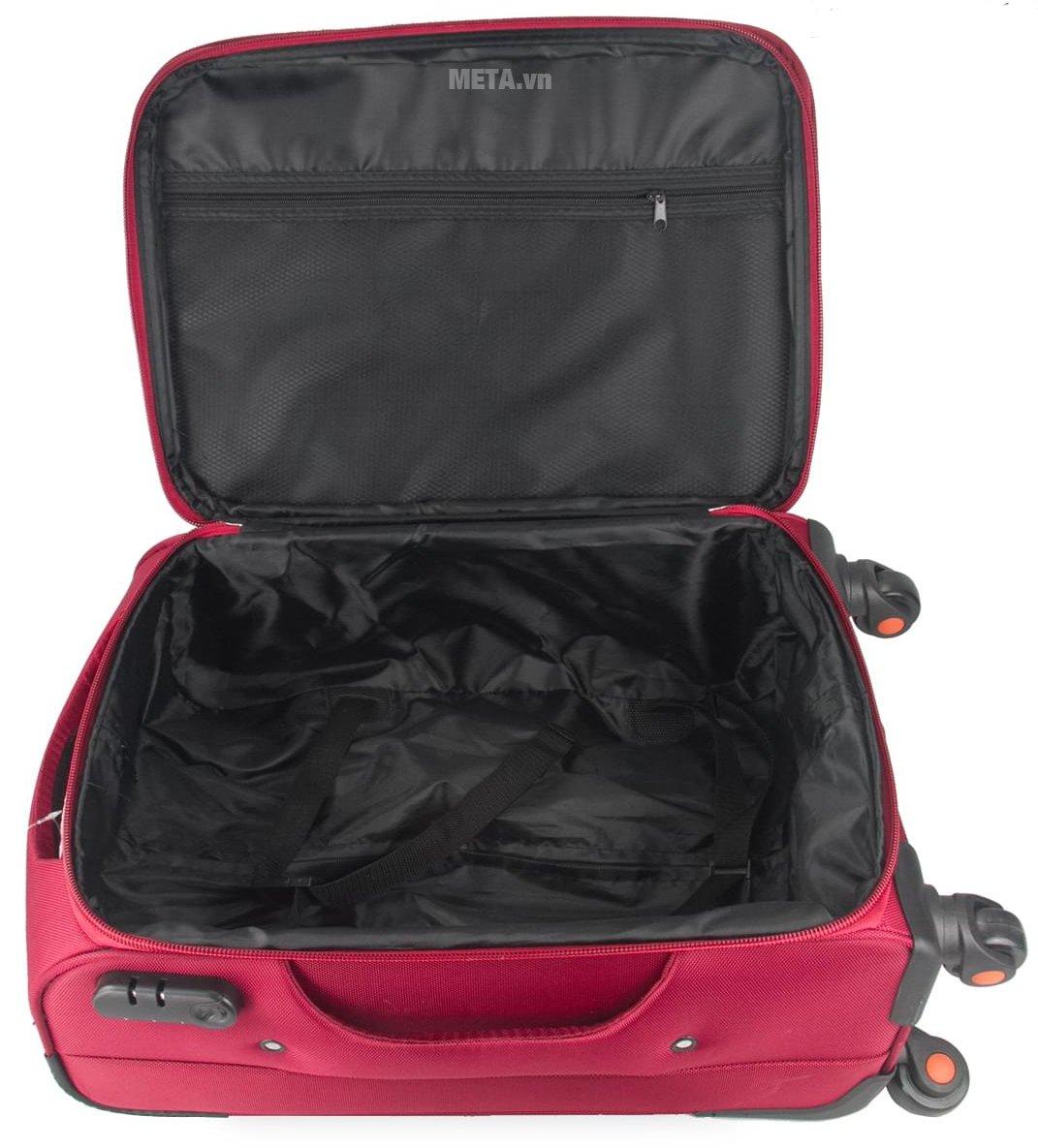 Vali vải cao cấp VLX020 24 inch có ngăn chứa rộng rãi