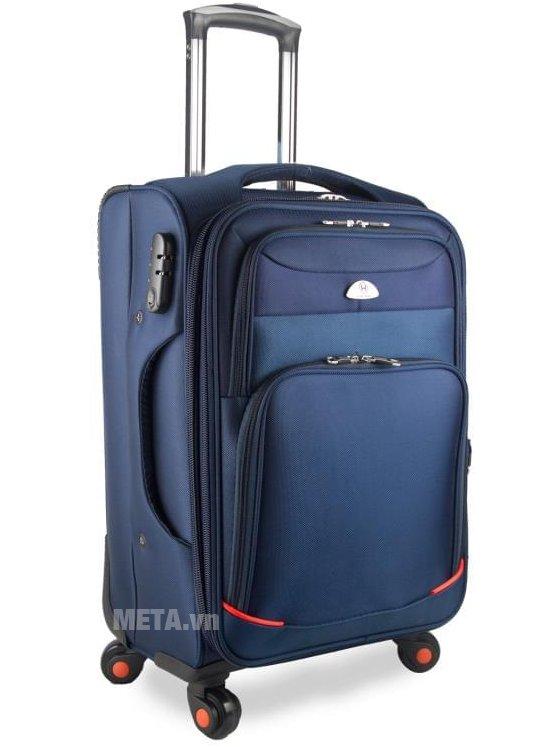 Vali vải cao cấp VLX020 28 inch màu xanh