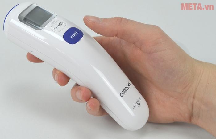 Nhiệt kế có khả năng đo và trả kết quả trong vòng 1 giây