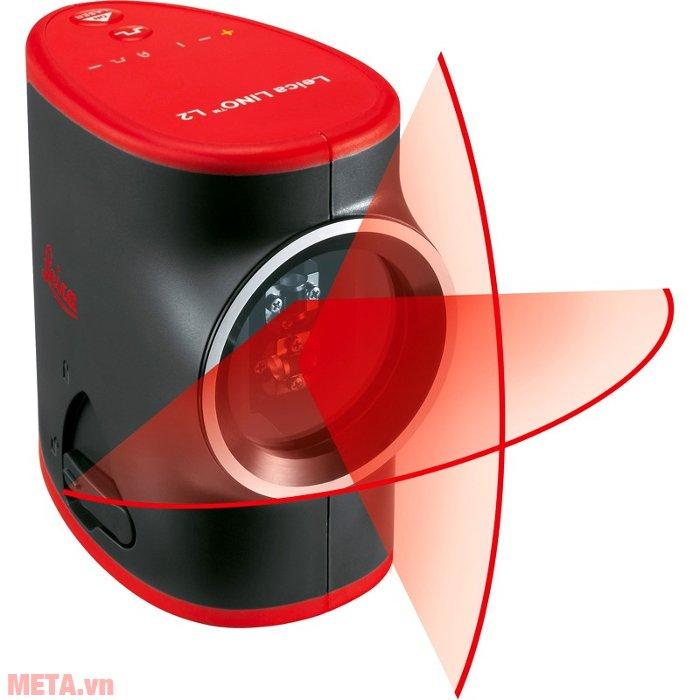 Máy cân mực laser Leica LINO L2 cho kết quả đo với độ chính xác cao