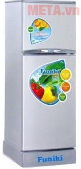 Funiki FR-152CI 147 lít là dòng tủ lạnh 2 cánh với hệ thống làm lạnh đa chiều