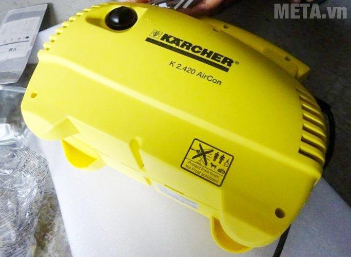 Máy phun rửa áp lực Karcher K2 420 có lớp vỏ chống thấm nước