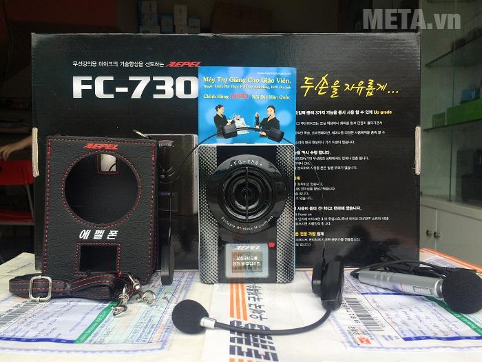 FC - 730 có thời gian sử dụng pin lên đến 20 giờ