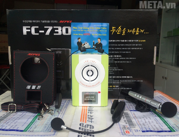 FC -730 không gấy méo tiếng khi sử dụng