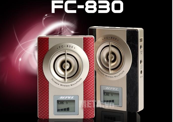 bạn có thể sử dụng FC - 830 trong căn phòng có sức chứa 150 người