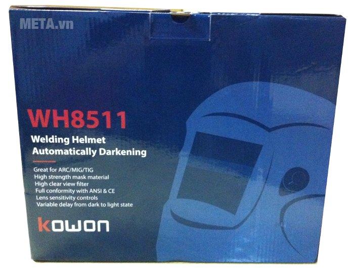 Mặt nạ hàn điện tử Kowon WH8511 có hộp đựng bằng giấy