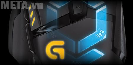 Chuột game Logitech G502 Proteus Spectrum luôn nằm trong tầm kiểm soát của bạn