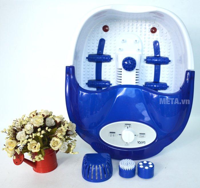 Bồn massage chân hồng ngoại Laica PC1301 thiết kế tiện lợi