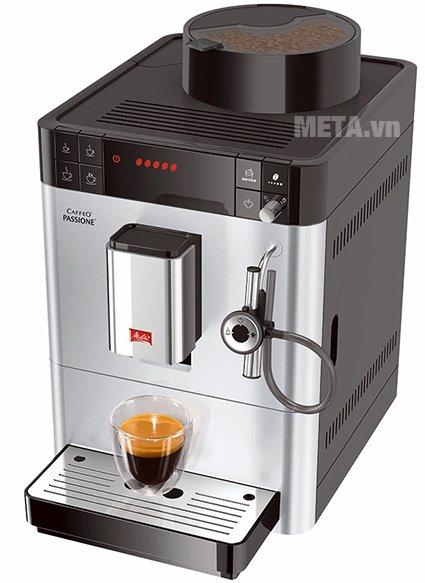 Máy pha cà phê Melitta Caffeo Passione xay được hạt cà phê