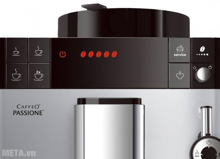 Máy pha cà phê Melitta Caffeo Passione có phím ấn điện tử