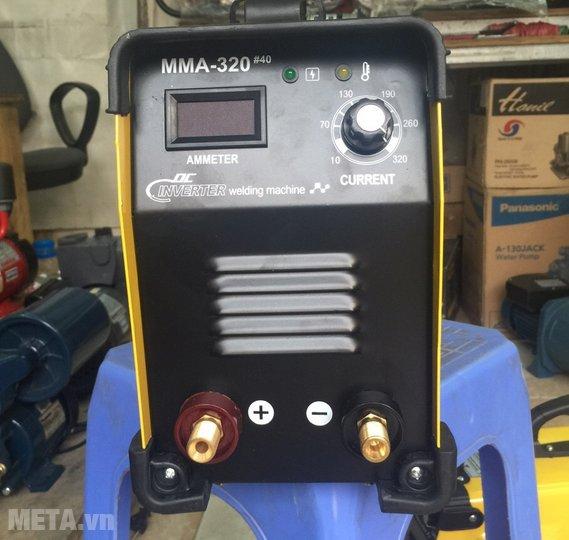Máy hàn Alisen MMA-320#40 chuyên dùng để hàn sắt