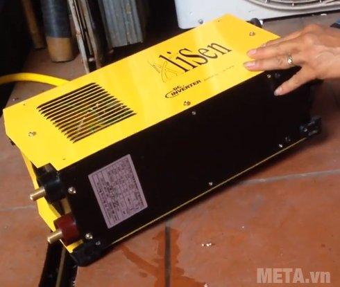 Máy hàn Alisen MMA-420#50 có công suất 7 KVA