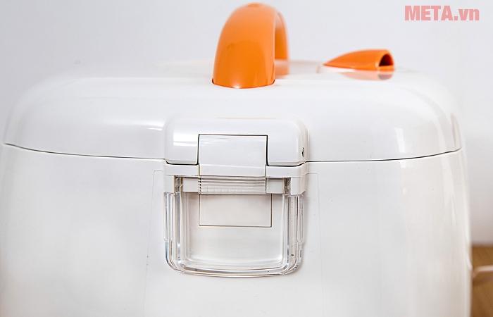 Phần hộp đựng nước thải, giúp nồi cơm giữ gìn vệ sinh