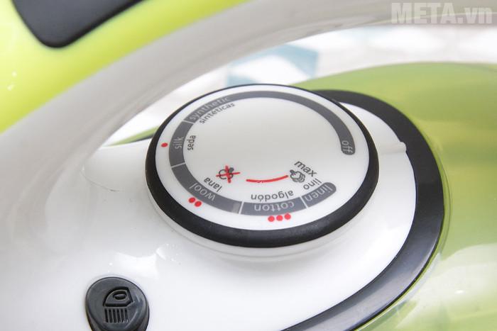 Nút điều chỉnh nhiệt độ dễ dàng sử dụng