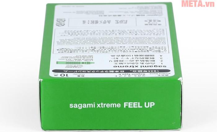 Bao cao su Sagami Xtreme Green là sản phẩm bao cao su đến từ Nhật Bản