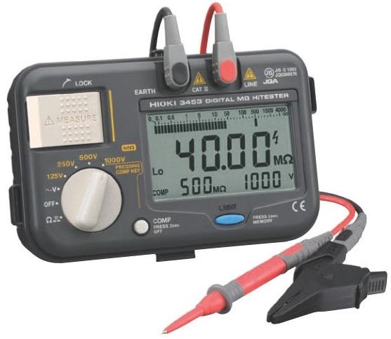 Hình ảnh máy đo điện trở cách điện Hioki 3453