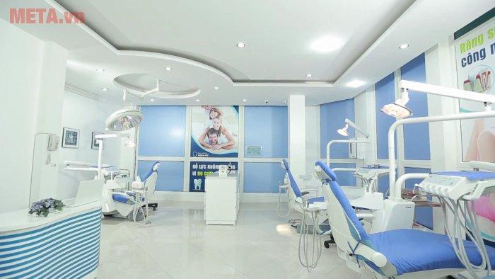 Máy nén khí không dầu được sử dụng phổ biến trong các phòng khám răng