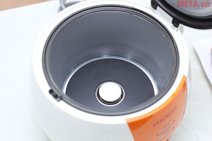 Nồi sử dụng một mâm nhiệt giúp cơn chín nhanh và ngon hơn