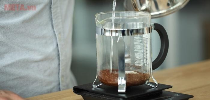 Bình pha cà phê thơm ngon đúng điệu hương vị Pháp