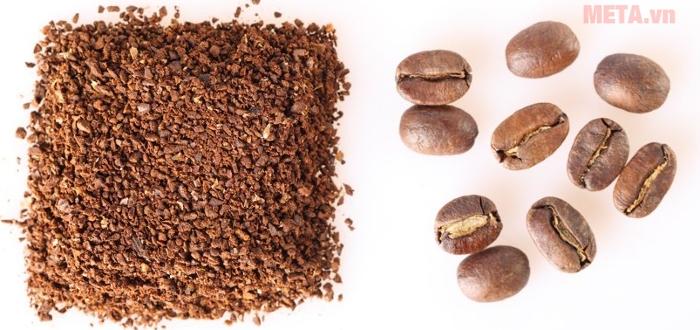 Hạt cà phê nên được xay thô