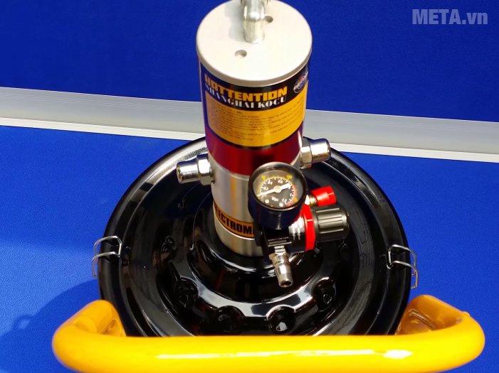 Máy bơm mỡ khí nén Kocu GZ-10 bơm mỡ cực khỏe