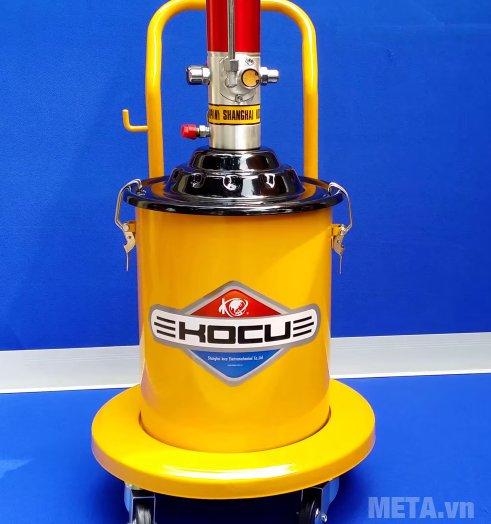 Máy bơm mỡ khí nén Kocu GZ-10 cung cấp lượng mỡ đều
