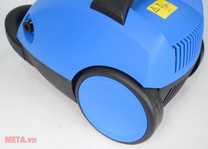 Máy rửa xe Jakcop ABW-JK-90P có bánh xe dễ dàng di chuyển