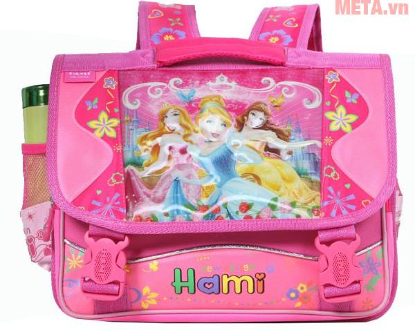 Cặp cấp 1 Hami C143W - 3 Công chúa màu hồng