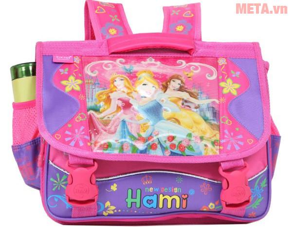 Cặp cấp 1 Hami C143W - 3 Công chúa màu tím