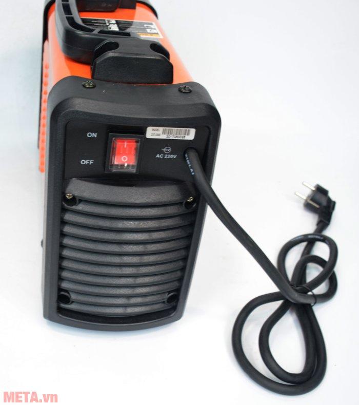 Máy hàn Inverter Btec ZX7-230D dùng nguồn điện 220V