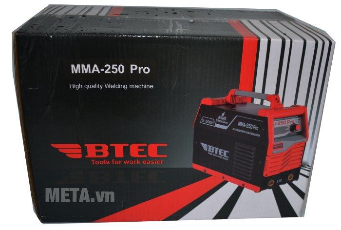 Hộp đựng của máy hàn Inverter Btec MMA-250 Pro