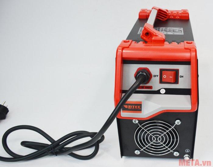 Máy hàn Inverter Btec MMA-250 Pro dùng điện áp 220V