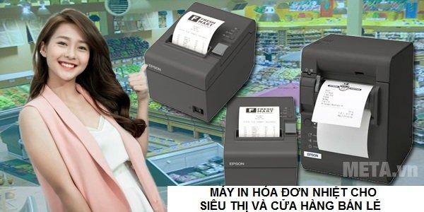 Máy in hóa đơn nhiệt là sự lựa chọn số 1 cho hệ thống bán lẻ