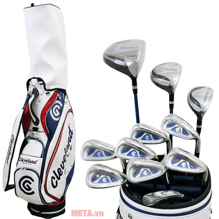 Bộ gậy golf Fullset nam Cleveland CG-C gồm 11 gậy và 1 túi golf