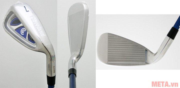 Bộ gậy golf Fullset nam Cleveland CG-C có 7 gậy sắt