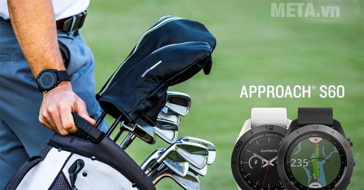 Đồng hồ Garmin Approach S60 có chế độ GPS