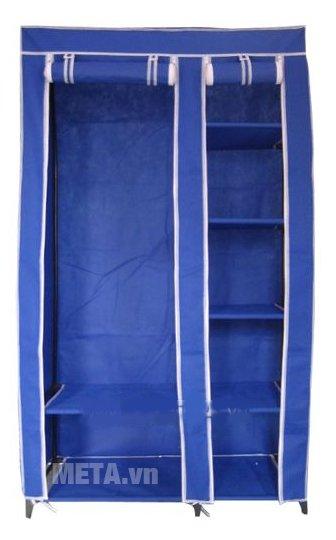 Tủ vải Thanh Long TVAI01 1m màu xanh