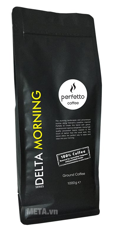 Cà phê bột Perfetto Delta Series Mornng 1000g
