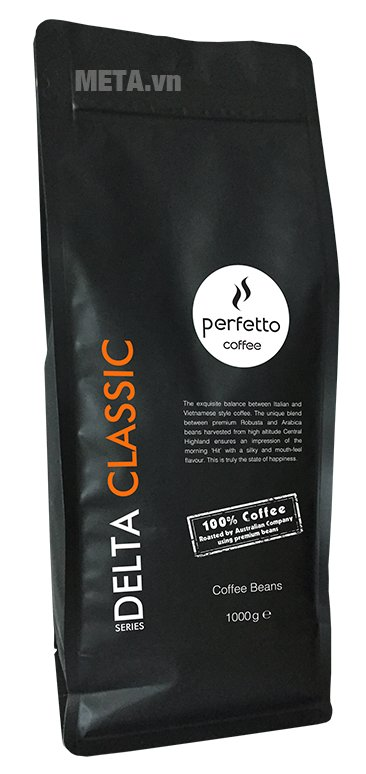 Cà phê hạt Perfetto Delta Series Classic 1000g