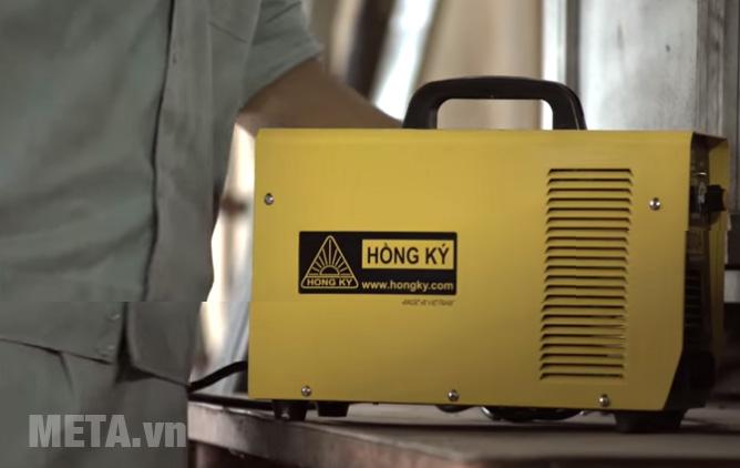 Máy hàn điện tử Hồng Ký HK 200A màu vàng